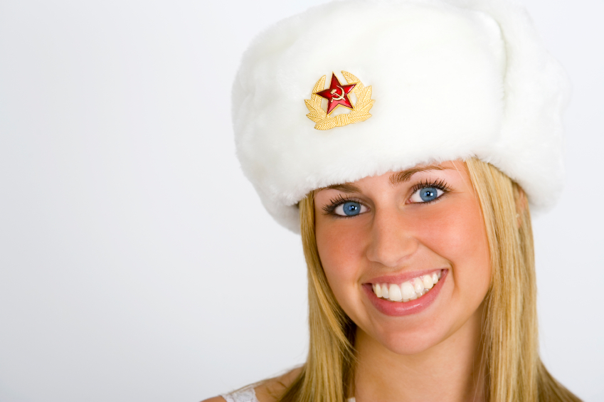 Smiling Russian Beauty